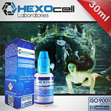 30ml LOST ATLANTIS 3mg eLiquid (With Nicotine, Very Low) - eLiquid by HEXOcell