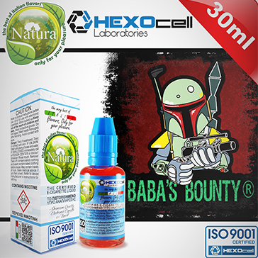 30ml BABA'S BOUNTY 3mg eLiquid (With Nicotine, Very Low) - Natura eLiquid by HEXOcell
