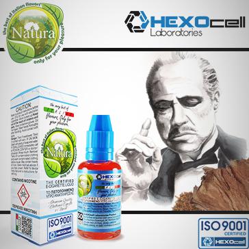 30ml CORLEONE 18mg Υγρό Αναπλήρωσης ( Με Νικοτίνη, Ισχυρό) - Natura Υγρά Αναπλήρωσης από την HEXOcell