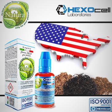 30ml AMERICANO 9mg Υγρό Αναπλήρωσης (Με Νικοτίνη, Μεσαίο ) - Natura Υγρά Αναπλήρωσης από την HEXOcell