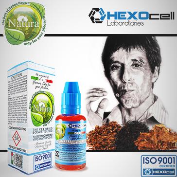 30ml TONY MONTANA 9mg Υγρό Αναπλήρωσης (Με Νικοτίνη, Μεσαίο ) - Natura Υγρά Αναπλήρωσης από την HEXOcell