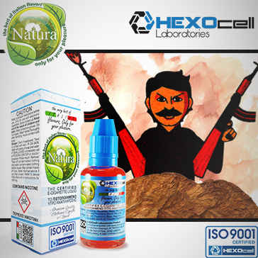 30ml IL CARTELLO 9mg Υγρό Αναπλήρωσης (Με Νικοτίνη, Μεσαίο ) - Natura Υγρά Αναπλήρωσης από την HEXOcell