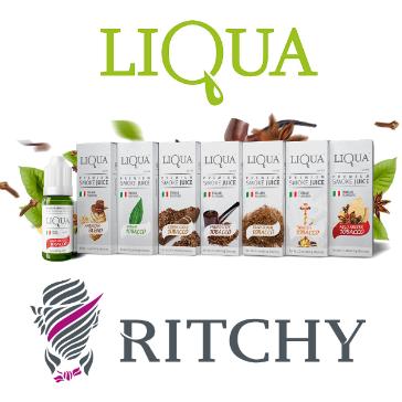 30ml LIQUA C FRENCH PIPE 12mg eLiquid (With Nicotine, Medium) - eLiquid by Ritchy