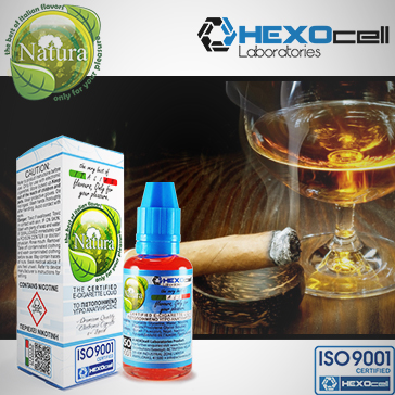 30ml CIGAR PASSION 9mg Υγρό Αναπλήρωσης (Με Νικοτίνη, Μεσαίο ) - Natura Υγρά Αναπλήρωσης από την HEXOcell