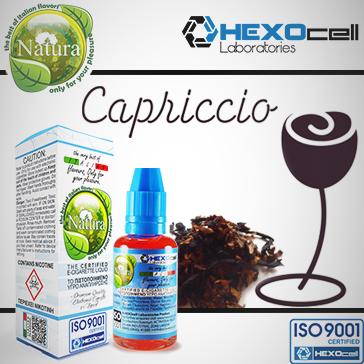 30ml CAPRICCIO 18mg Υγρό Αναπλήρωσης ( Με Νικοτίνη, Ισχυρό) - Natura Υγρά Αναπλήρωσης από την HEXOcell