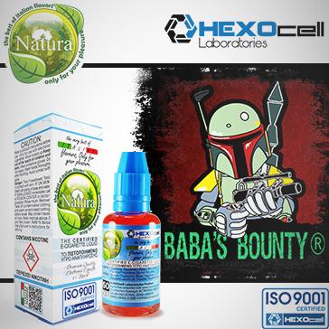 30ml BABA'S BOUNTY 9mg Υγρό Αναπλήρωσης (Με Νικοτίνη, Μεσαίο ) - Natura Υγρά Αναπλήρωσης από την HEXOcell