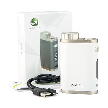 ΜΠΑΤΑΡΙΑ - Eleaf iStick Pico 75W TC Box Mod ( White )