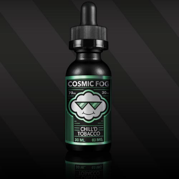 30ml CHILL'D TOBACCO 3mg High VG eLiquid (With Nicotine, Very Low) - eLiquid by Cosmic Fog