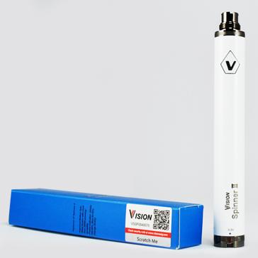 ΜΠΑΤΑΡΙΑ - Vision Spinner II 1600mA ( WHITE )
