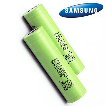 ΜΠΑΤΑΡΙΑ - SAMSUNG ICR18650-30B 3000mAh 3.7v Rechargeable Battery ( Flat Top )