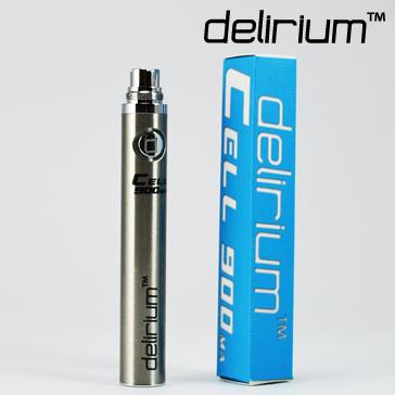 ΜΠΑΤΑΡΙΑ - DELIRIUM CELL eGo 900mA ( SILVER )