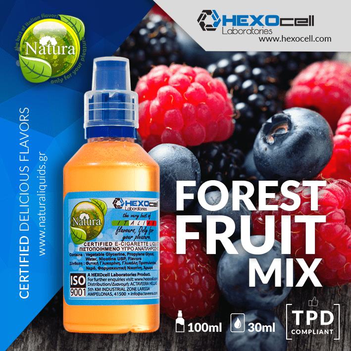 MIX & SHAKE - NATURA 30/60ML - FOREST FRUIT MIX (ΦΡΟΥΤΑ ΤΟΥ ΔΑΣΟΥΣ)