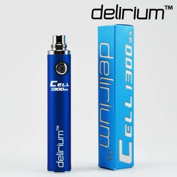 ΜΠΑΤΑΡΙΑ - DELIRIUM CELL 1300mA eGo/eVod Υψηλής ποιότητας ( ΜΠΛΕ )