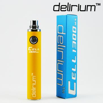 ΜΠΑΤΑΡΙΑ - DELIRIUM CELL 1300mA eGo/eVod Υψηλής ποιότητας ( ΚΙΤΡΙΝΗ )
