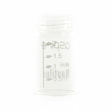 ΑΤΜΟΠΟΙΗΤΉΣ - ASPIRE Nautilus Mini Δεξαμενή Αντικατάστασης από ( Pyrex Γυαλί ) - 2ML Χωρητικότητα - 100% Αυθεντική