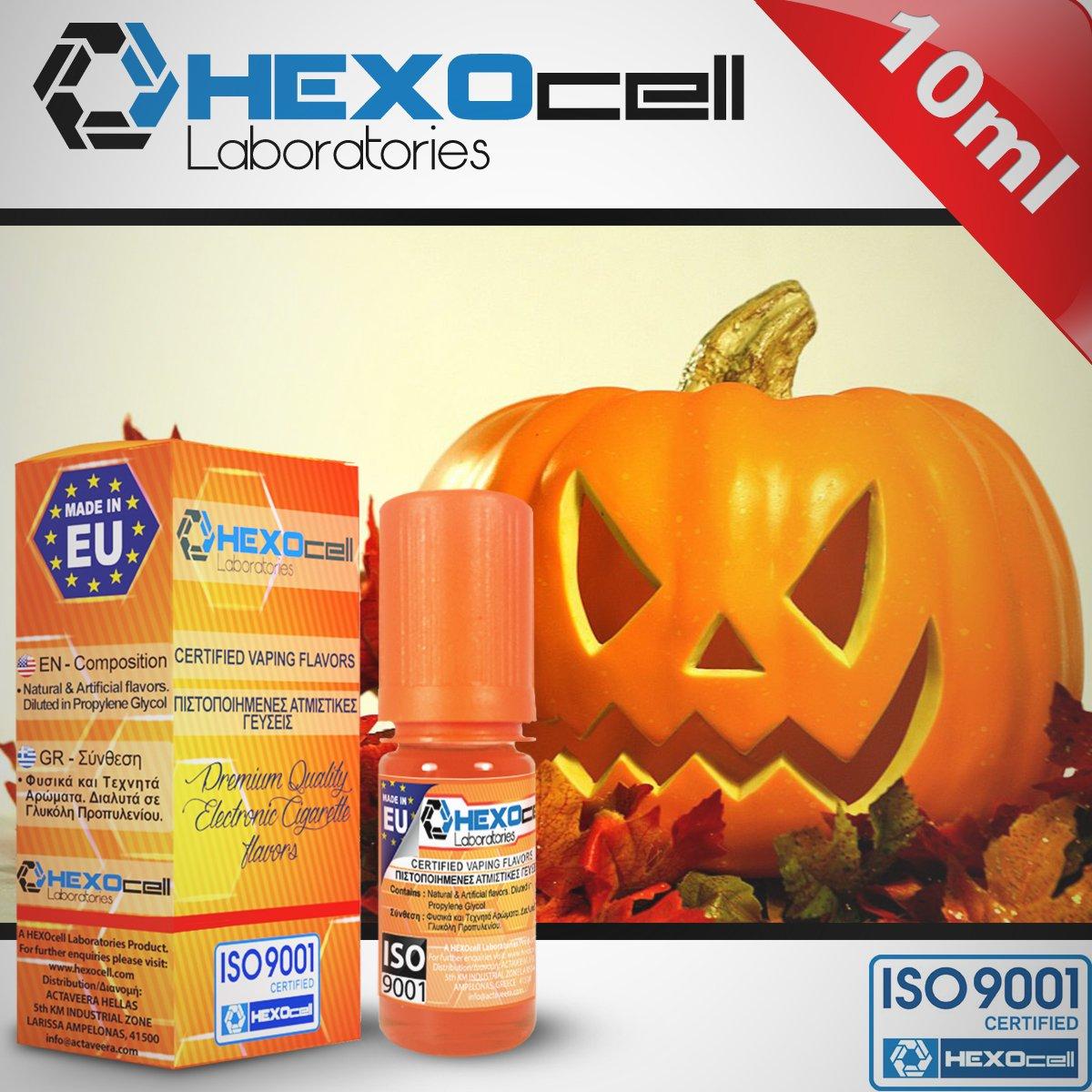 D.I.Y. - ΑΡΩΜΑ - HEXOCELL 10ML - HALLOWEEN FREAK (ΚΟΛΟΚΥΘΟΠΙΤΑ) - 5%