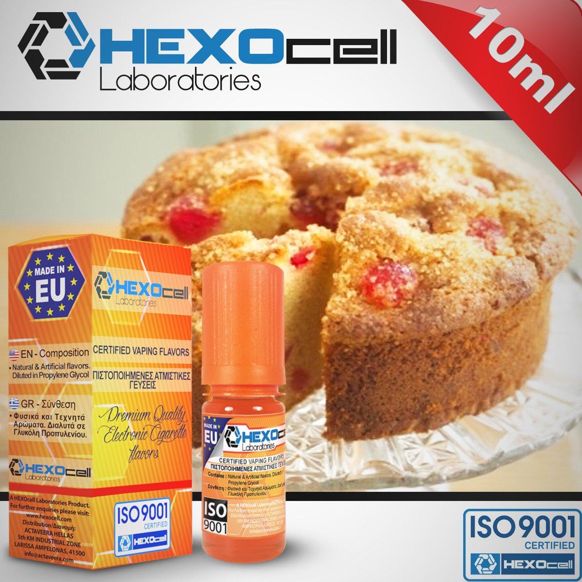 D.I.Y. - ΑΡΩΜΑ - HEXOCELL 10ML - NANNA'S CAKE (ΙΤΑΛΙΚΟ ΚΕΙΚ ΜΕ ΚΡΕΜΑ ΚΑΣΤΑΡΝΤ) - 5.5%