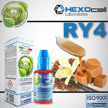 30ml RY4 9mg Υγρό Αναπλήρωσης (Με Νικοτίνη, Μεσαίο ) - Natura Υγρά Αναπλήρωσης από την HEXOcell