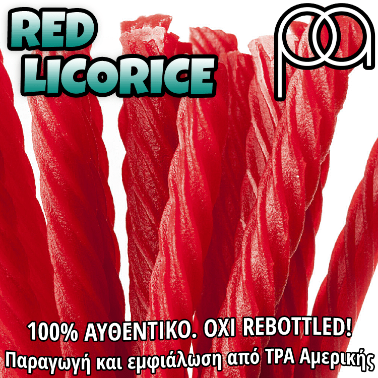 D.I.Y. - ΑΡΩΜΑ - 15ML - TPA - RED LICORICE ( ORIGINAL BOTTLE ) - 15ML