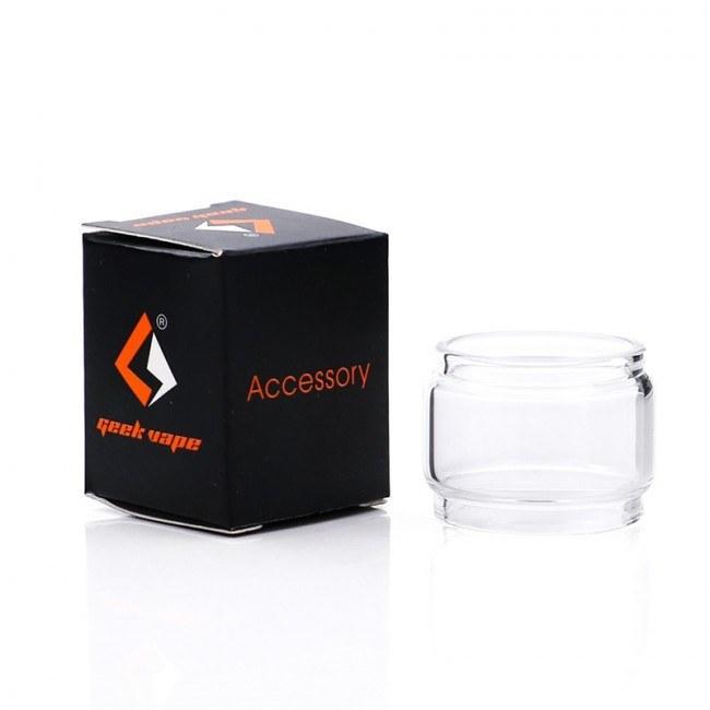 ΑΤΜΟΠΟΙΗΤΗΣ - ΤΖΑΜΑΚΙ GEEKVAPE ZEUS X/DUAL/SUBOHM BUBBLE GLASS 4.5 ή 5.5ML (CLEAR/ΔΙΑΦΑΝΟ)
