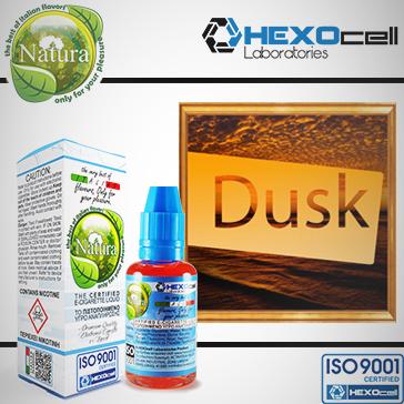 30ml DUSK TOBACCO 18mg Υγρό Αναπλήρωσης ( Με Νικοτίνη, Ισχυρό) - Natura Υγρά Αναπλήρωσης από την HEXOcell