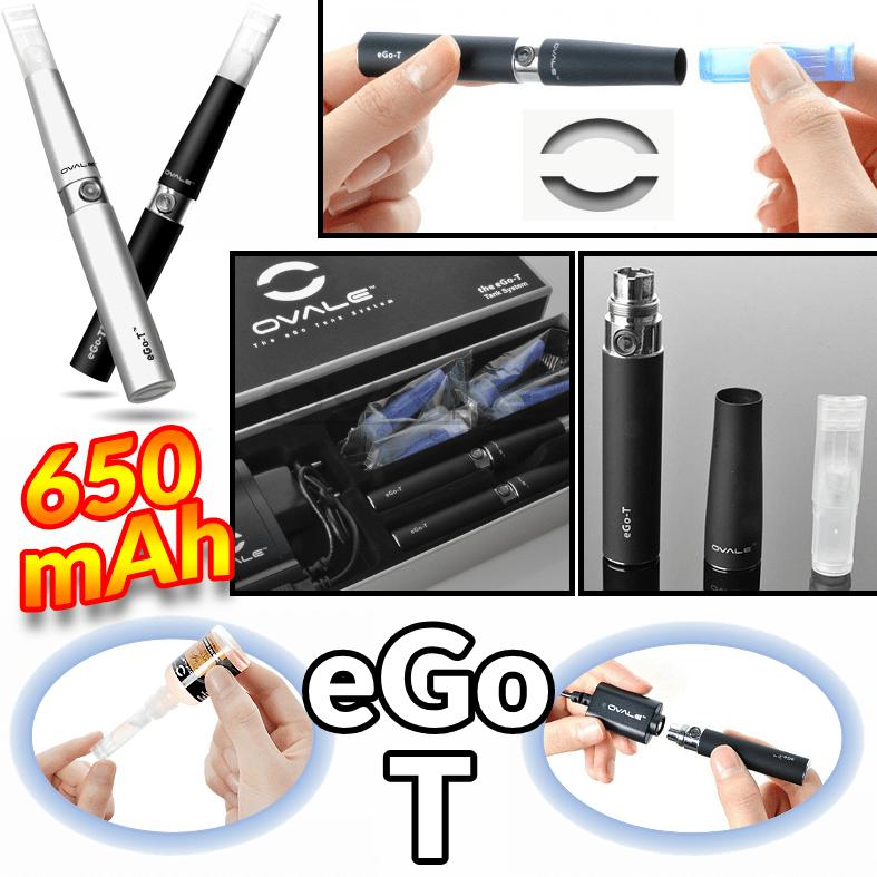 ΜΠΑΤΑΡΙΑ - OVALE EGO-T 650mA (STAINLESS)