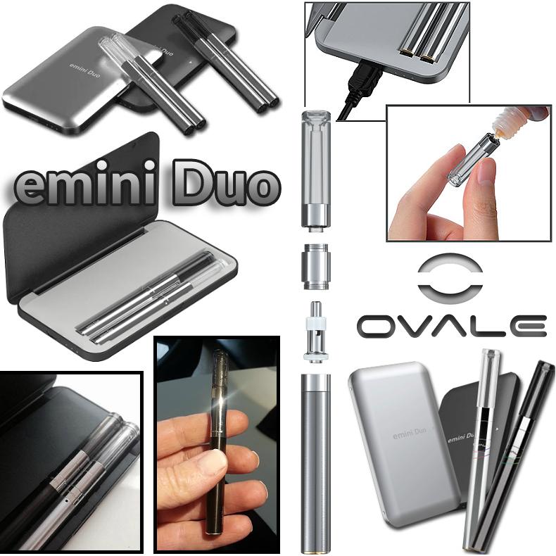 ΚΑΣΕΤΙΝΑ - OVALE EMINI DUO ( BLACK )
