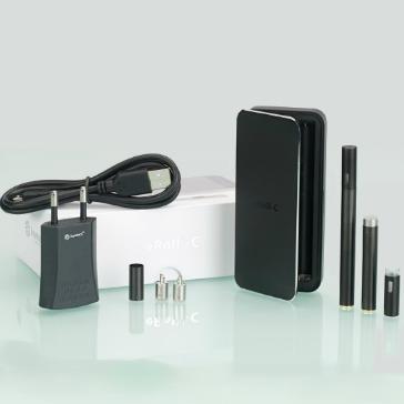 KIT - JOYETECH eRoll-C Αυτόματο / Χωρίς Κουμπί Ηλεκτρονικό Τσιγάρο ( ΜΑΥΡΟ ) - 100% Αυθεντικό