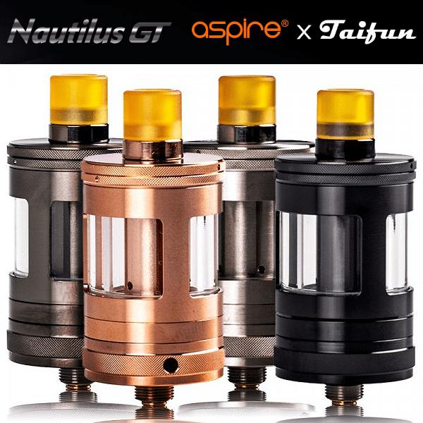 ΑΤΜΟΠΟΙΗΤΗΣ - ASPIRE NAUTILUS GT TANK 24MM 2ML ( ROSE GOLD )