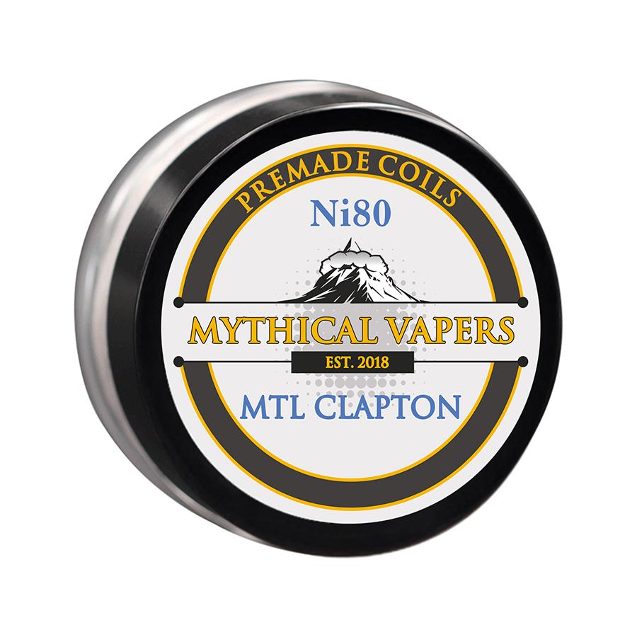ΑΤΜΟΠΟΙΗΤΗΣ - 1x ΕΤΟΙΜΗ ΑΝΤΙΣΤΑΣΗ MYTHICAL VAPERS - MTL CLAPTON Ni80