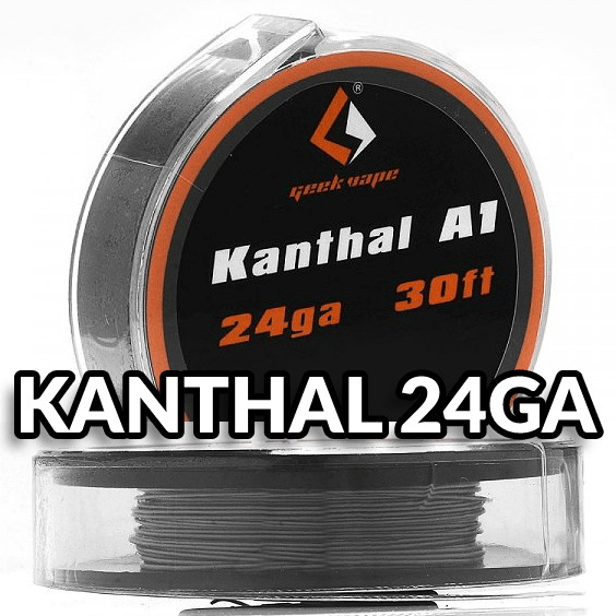 ΑΤΜΟΠΟΙΗΤΗΣ - ΣΥΡΜΑ GEEKVAPE KANTHAL A1 24GA ( 10m )