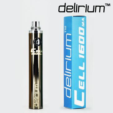 ΜΠΑΤΑΡΙΑ - DELIRIUM CELL 1600mA eGo/eVod Υψηλής ποιότητας ( ΜΑΥΡΗ ΜΕΤΑΛΛΙΚΗ )