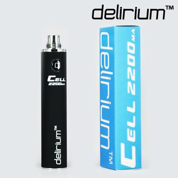 ΜΠΑΤΑΡΙΑ - DELIRIUM CELL 2200mA eGo/eVod Υψηλής ποιότητας ( ΜΑΥΡΗ )