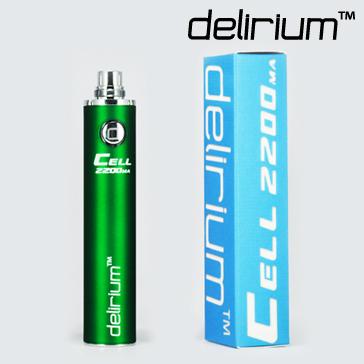 ΜΠΑΤΑΡΙΑ - DELIRIUM CELL 2200mA eGo/eVod Υψηλής ποιότητας.  ( ΠΡΑΣΙΝΗ )