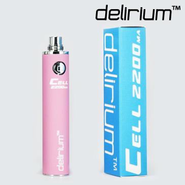 ΜΠΑΤΑΡΙΑ - DELIRIUM CELL 2200mA eGo/eVod Υψηλής ποιότητας ( ΡΟΖ )