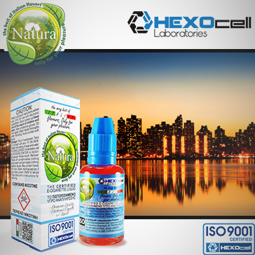 30ml MANHATTAN 18mg eLiquid (With Nicotine, Strong) - Natura eLiquid by HEXOcell