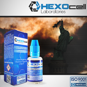 30ml LIBERTY 18mg eLiquid (With Nicotine, Strong) - eLiquid by HEXOcell